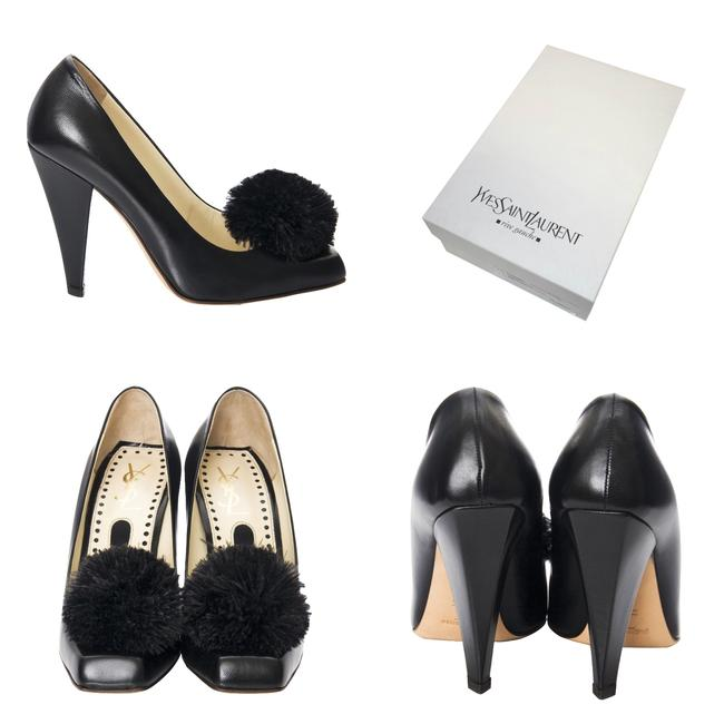 ysl shoes with ysl heel