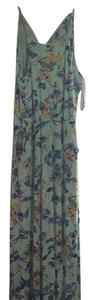 Mint green Maxi Dress by The Limited Floral Maxi