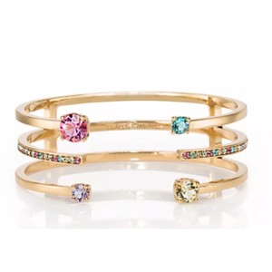 Kate Spade NWT Kate Spade Carnival Crystals Cuff Jewels Bangle Bracelet WBRUB870