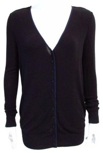 Bella Luxx Silk Trim Cardigan