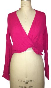 Ella Moss Top Fuschia