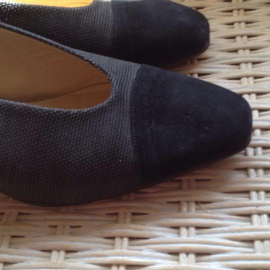 Bottecelli Italy. Charcoal gray with black. Pumps Image 2