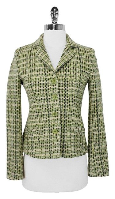 Preload https://item5.tradesy.com/images/theory-green-wool-and-angora-blend-tweed-blazer-size-0-xs-2008744-0-0.jpg?width=400&height=650