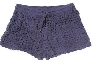 Joie Mini/Short Shorts Violet Blue