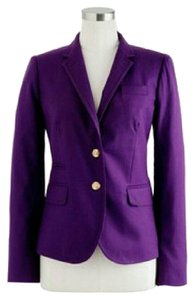 J.Crew Wool Flannel School Boy Purple Blazer