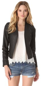 Joie Leather Edgy Sleek Chic Leather Jacket