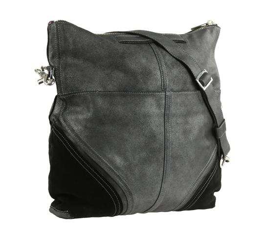 Botkier Leather Metallic Hobo Bag Image 1