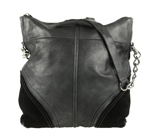Botkier Leather Metallic Hobo Bag Image 2