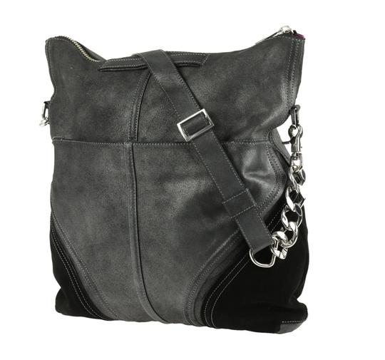 Botkier Leather Metallic Hobo Bag Image 3
