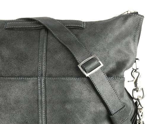 Botkier Leather Metallic Hobo Bag Image 4