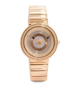 Versace Versace Swiss Quartz Rose Gold IP Stainless Steel VLC100014