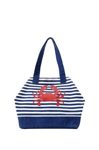 Shiraleah Tote in Blue White