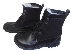 Birkenstok New Without Box Shearling Fur Lining black Boots