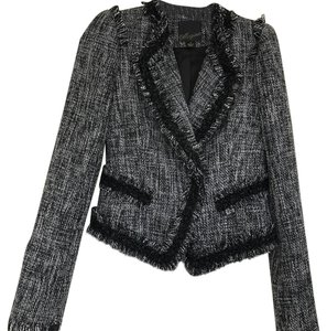 McGinn Black/white/gray Blazer