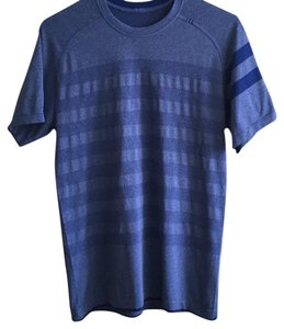 Lululemon T Shirt Blue/ stripes