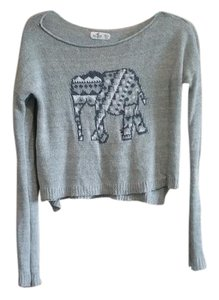 Hollister Crop Knit Sweater