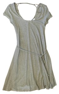 Motherhood Maternity Short Sleeve Striped Dress