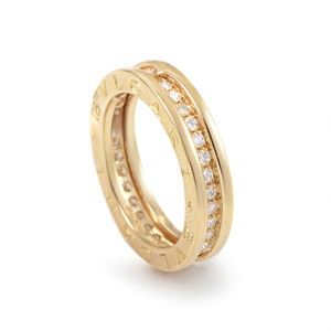 BVLGARI Bulgaria B.Zero One band ring with Diamond Size: 62 UK 10