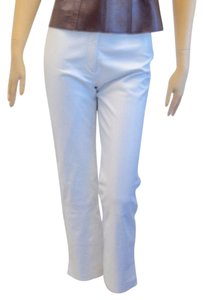 Parallel Straight Pants white