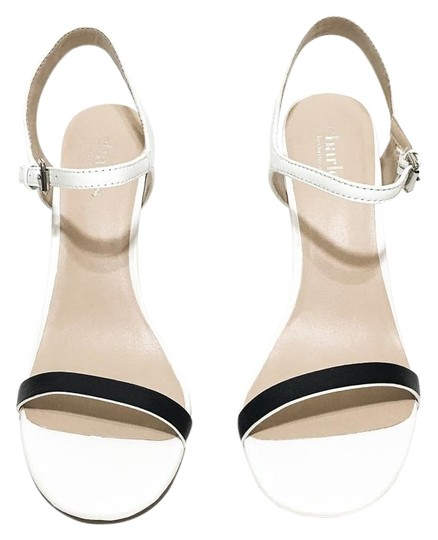 Preload https://img-static.tradesy.com/item/20088623/charles-david-white-black-reverse-heel-sandals-size-us-75-regular-m-b-0-1-540-540.jpg