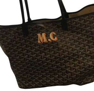 Goyard Tote in Black/black