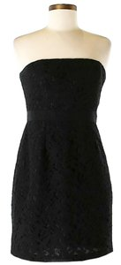 Cynthia Steffe Strapless Lace Shift Dress