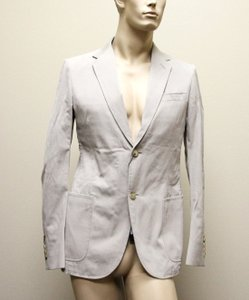 Gucci Beige New Men's Jacket Blazer 46r/ Us 36r Groomsman Gift