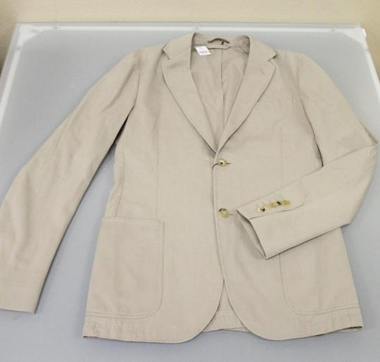 Gucci Beige New Men's Jacket Blazer 46r/ Us 36r Groomsman Gift Image 5