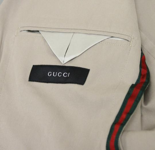 Gucci Beige New Men's Jacket Blazer 46r/ Us 36r Groomsman Gift Image 7