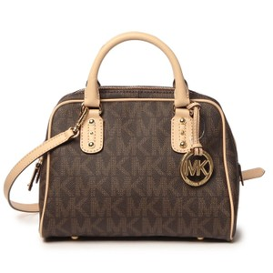 Michael Kors Mk Satchel in Brown