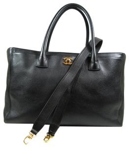 Chanel Cerf Tote in Black