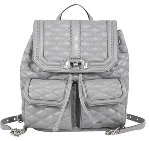 Rebecca Minkoff Leather Quilted Backpack