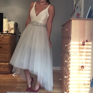 BHLDN Gillian Tulle Dress Wedding Dress