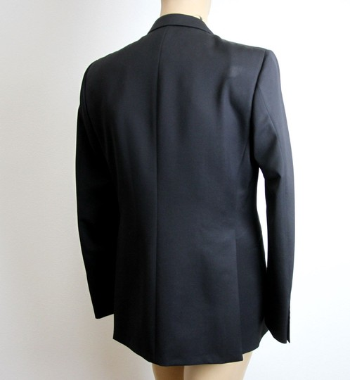 Gucci Black New Men's 3 Button Wool Suit Jacket 50r/ Us 40r 195593 Groomsman Gift Image 4