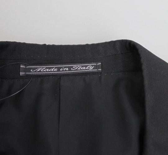 Gucci Black New Men's 3 Button Wool Suit Jacket 50r/ Us 40r 195593 Groomsman Gift Image 7