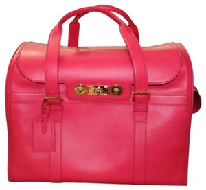 Versace Pets Pink Travel Bag