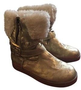 Guess Gold Boots