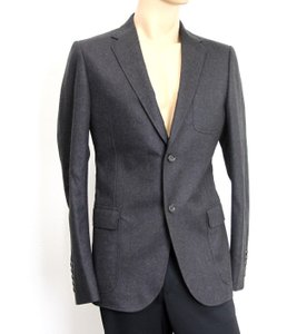 Gucci Charcoal New Men's Wool Coat Jacket Blazer Eu 54r/ Us 44r 265397 Groomsman Gift