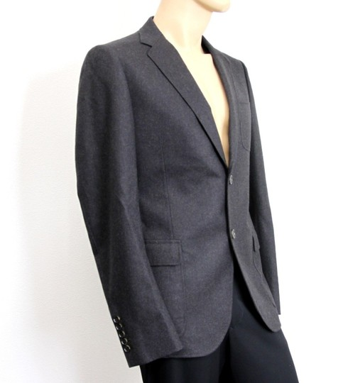 Gucci Charcoal New Men's Wool Coat Jacket Blazer Eu 54r/ Us 44r 265397 Groomsman Gift Image 1