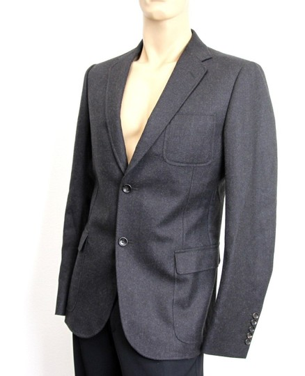 Gucci Charcoal New Men's Wool Coat Jacket Blazer Eu 54r/ Us 44r 265397 Groomsman Gift Image 2