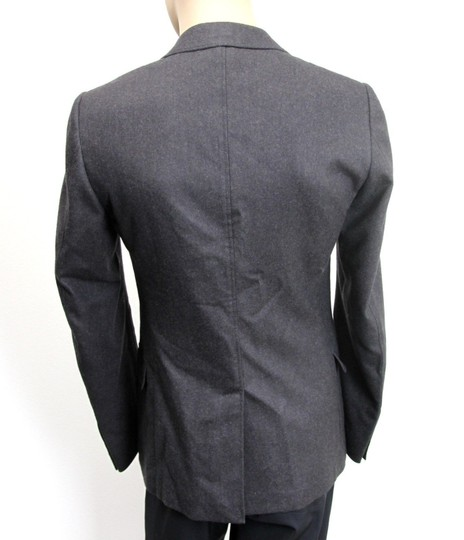 Gucci Charcoal New Men's Wool Coat Jacket Blazer Eu 54r/ Us 44r 265397 Groomsman Gift Image 3