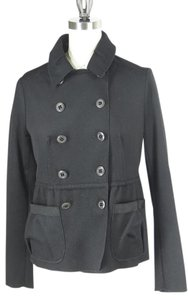 Magaschoni Military Wool Cashmere Peacoat Military Jacket