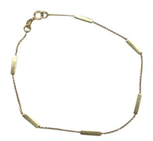 Jennifer Meyer Jewelry Gold Bar bracelet