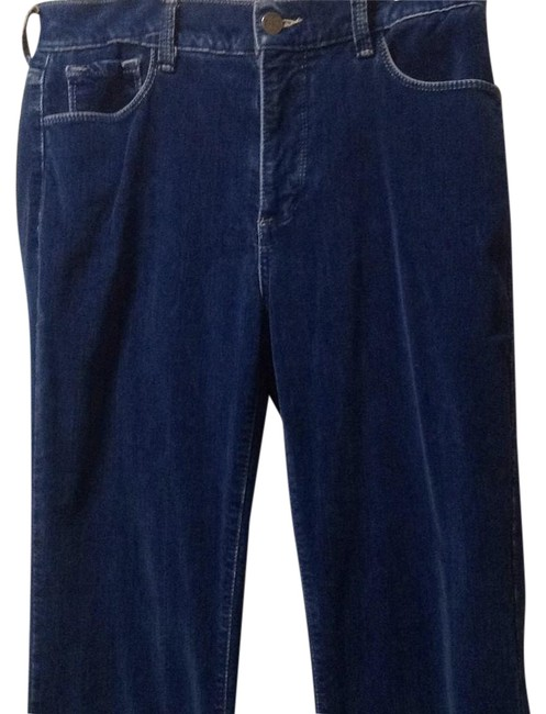 Item - Blue Distressed.velvet Not Your Daughters Straight Leg Jeans Size 29 (6, M)