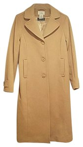 L.L.Bean Wool Lambswool Winter Pea Coat