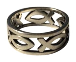 James Avery continuous ichthus