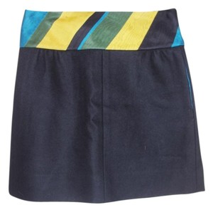 Louis Vuitton Mini Skirt Black / Multi Stripe