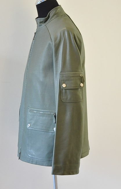 Hermès green Leather Jacket Image 1