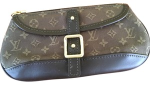 Louis Vuitton Military Green Clutch