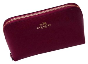 Coach Leather Cosmetic Case